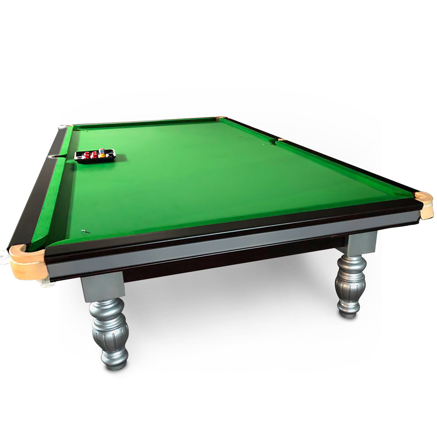 12 Foot Slate Windsor Snooker Table - Timber cushion