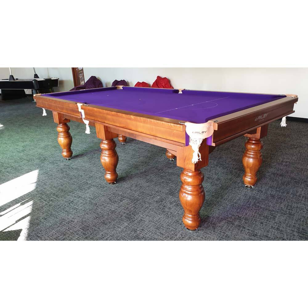 8 Foot Slate Riley (England)  Sovereign Pool Table