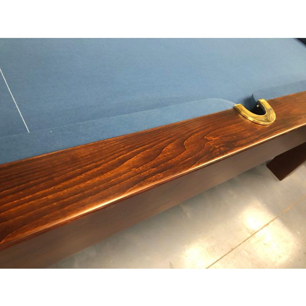 Melbourne Special - Floor Display 7ft Slate Executive Pool Table, European Oak, Walnut Stain