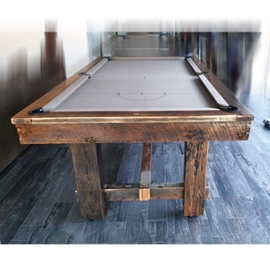 8 Foot Slate Retro Rustic Pool Table