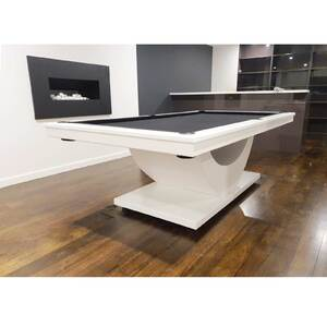 8 Foot Slate Transformer Pool Billiards Table