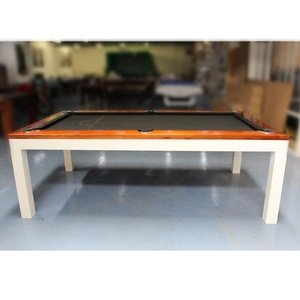 Melbourne Special - 7 Foot Euro Pool /Billiards Table, Jarrah Top (Floor Table)