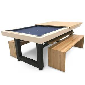 7 Foot Slate Odyssey All-In-One Pool Dining Table