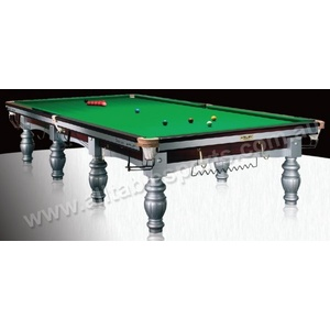 12 Foot Slate Riley Aristocrat Tournament Tournament Champion (Silver) Snooker Table
