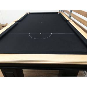 Melbourne Special - 7 ft slate black diamond pool table