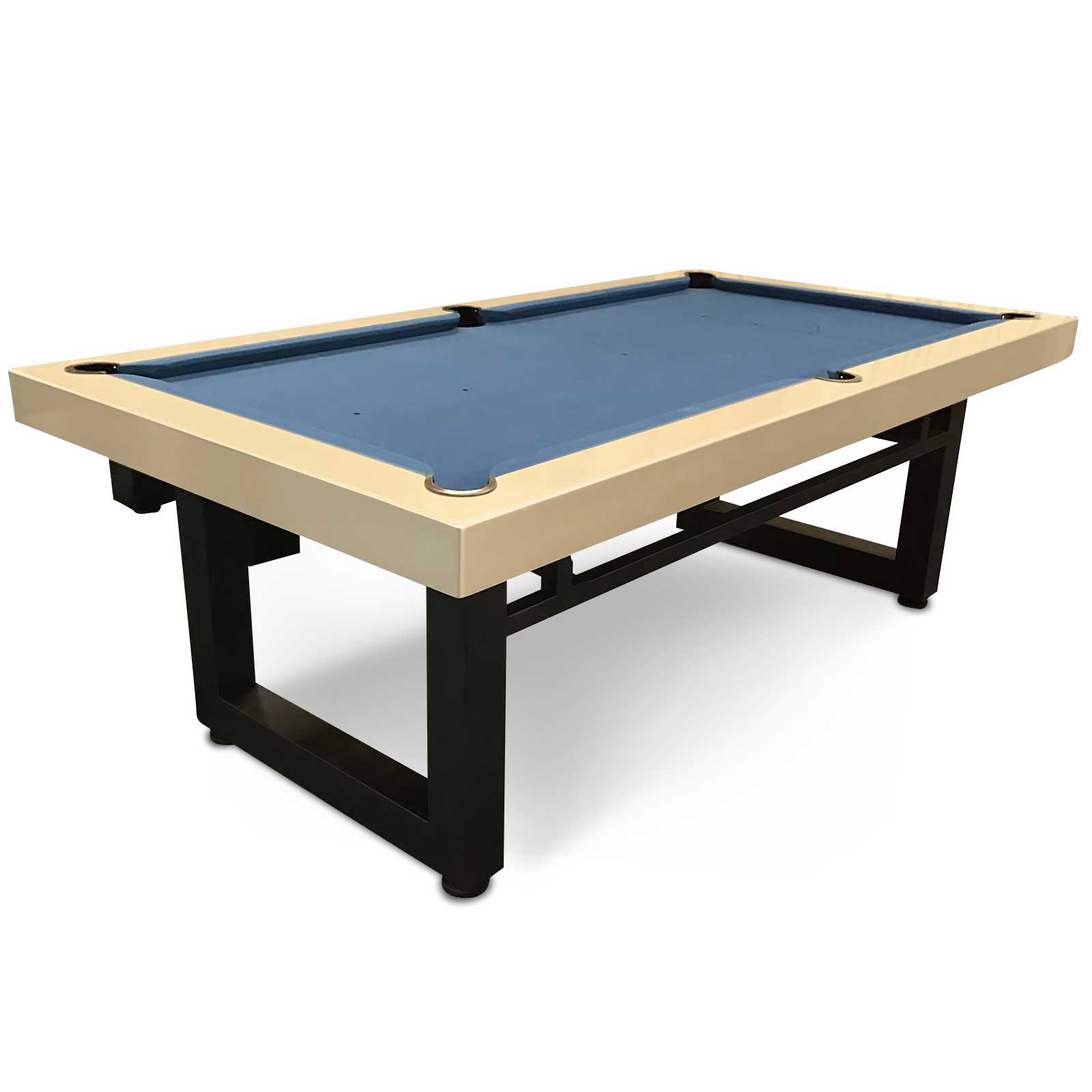 8 Foot Slate Odyssey All-In-One Pool Dining Table