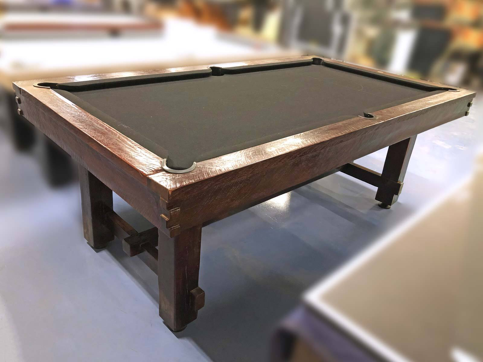 Melbourne Special - 7 Foot Slate Retro Rustic Pool Table (Floor Table)
