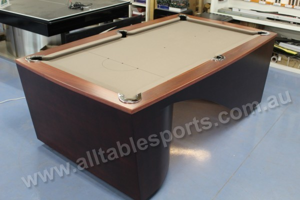 7 Foot Slate Ultra Modern Infinity Pool Billiards Table