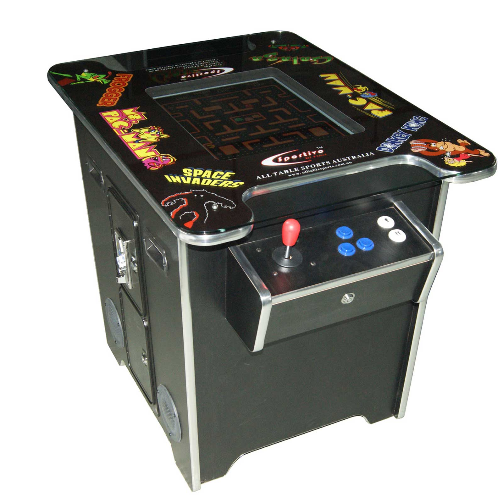 Classic Residential Cocktail Arcade Multi Games Machine