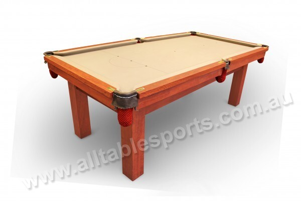 Melbourne Special - 7 Foot Slate Red Back Pool Table Floor