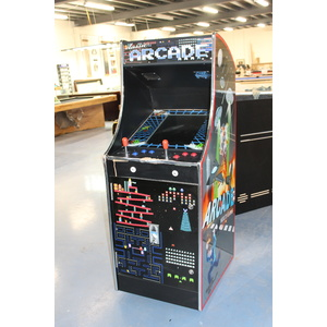 Special --- Upright Arcade Multi Games Machine (With Transport Damage)