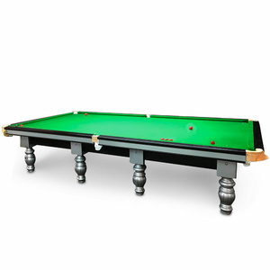 12 Foot Slate Windsor Snooker Table - Steel Back Cushion