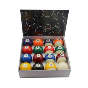 "Standard 2"" Pool Ball Set"