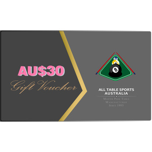 AU$30 All Table Sports Gift Voucher