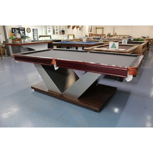 Ultra Modern 8 Foot Slate Victory Pool Billiards Table,Floor Table,Minor Defects