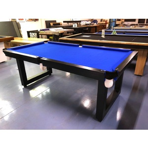 Special - 7 Foot Slate Odyssey Premier Pool Billiards Table, Blue Felt