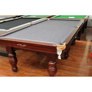 Special - 8 Foot Slate Riley (England)  Sovereign Pool Table (Grey Felt)