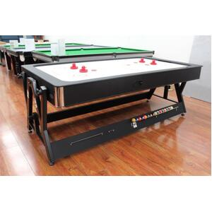Melbourne Special - Floor Dual table with dint. 7 Foot Dual Function Table - Billiard/Air Hockey